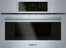 """BOSCH 800 HMC87152UC 27"""" Speed Oven Stainless Steel Convecti"""