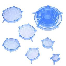 TTnight Bowl Cover Heat Resistant Cover Silicone Stretch Lid