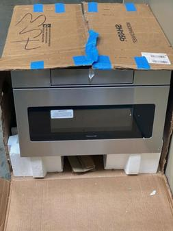 Sharp 1.2 Cu. Ft. 24-inch Built-in, Flat Panel Microwave Dra