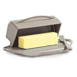 Butterie Flip Top Butter Dish For Countertop or Refrigerator