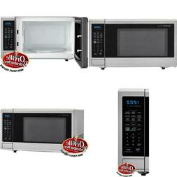 Carousel 1.4 Cu. Ft. Countertop Microwave In Brushed Stainle
