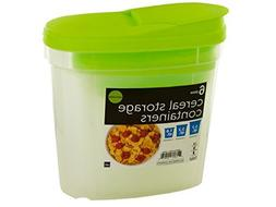Cereal Storage Containers set of 3  Airtight Lids, Microwave