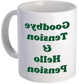 11OZ Coffee Mug - GREEN Retirement Coffee Mug, Good Bye Tens