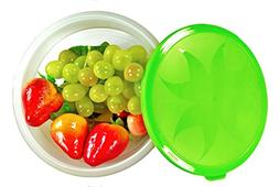 collapsible food storage containers plastic
