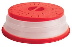 PT Hendersons Collapsible Microwave Cover keeps food moist,p