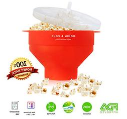 Collapsible Silicone Microwave Popcorn Popper / Maker - Reus