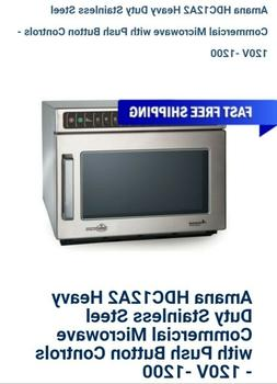 Amana Commercial Heavy Volume Microwave HDC12A2. Brand New.
