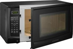 Compact Microwave 0.7 Cu. Ft. Black 6 Automatic Cooking Opti