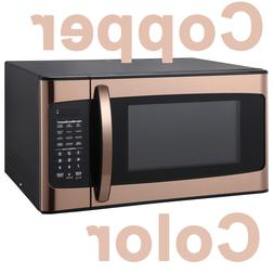 COPPER COLOR Hamilton Beach 1.1 Cu. Ft Microwave Oven 1000W