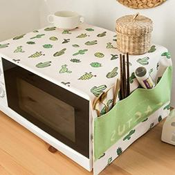 Cotton And Linen Cloth Microwave Oven Cover Cover Cloth Oven