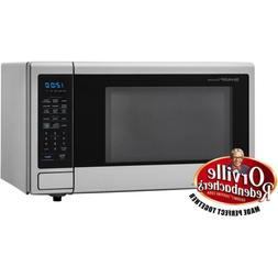 Countertop Microwave Carousel 1.4 cu. ft. Brushed Stainless