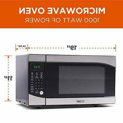 Countertop Premium Microwave Oven 900W Stainless Steel 0.9 C