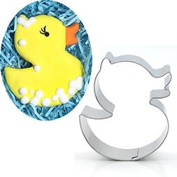 Antallcky Cute Duck Cookie Cutter Stainless Steel Biscuit Mo