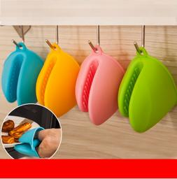 Cute Kitchen Cooking Microwave Oven Mitt Insulated Non-slip