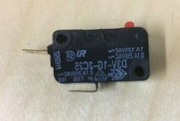 D3V-1G-2C25 Omron Microwave Oven Door Monitor Switch Replace
