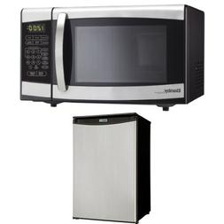 Danby 0.7 cu.ft. Countertop Microwave, Stainless Steel and D