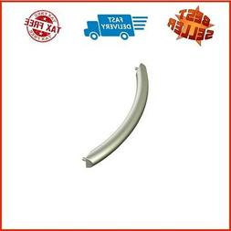 Qualtex 1 Silver Oven Door Handle for Samsung ME16K3000AS, S