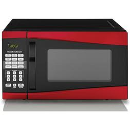 Digital Microwave Oven Hamilton Beach 0.9 Cu Ft 900W Red Kit