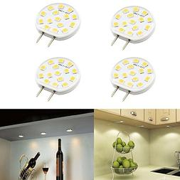 Dimmable LED G8 Light Bulb Luxvista 2.5W T4 G8 Bi-Pin Base U