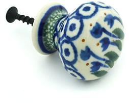 Polish Pottery Drawer Pull Knob 1-inch made by Ceramika Arty