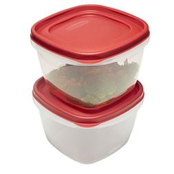 Rubbermaid Easy Find Lids Food Storage Containers, 7 Cup, Ra