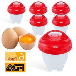 Egglettes egg cookers Poached Boiled Eggs Steamer BPA Free N