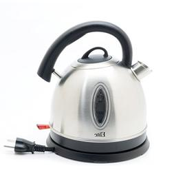 Tayama TGK-17 1 7 L Glass Kettle, Stainless Steel