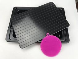 FNR's Premium Frozen Food/Meat Defrosting Tray with Drip P