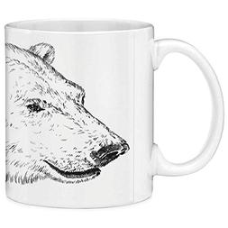 Funny Coffee Mug with Quote Animal 11 Ounces Funny Coffee Mu