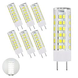 DiCUNO G8 LED Bulb, Dimmable 6W Daylight White 6000K, 120V X