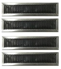 Charcoal FILTER for GE Kit JX81D JX81A, JX81 Vent Microwave