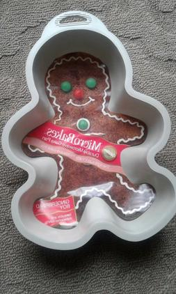 gingerbread boy microbakes microwave full size cake