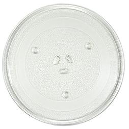 HQRP 12.5-inch Glass Turntable Tray for Hotpoint Microwave O