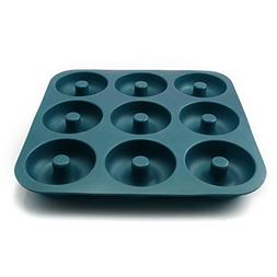 Large Professional Grade Donut Pan for Baking 9 Cavity Non-S