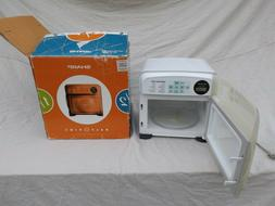 half pint microwave oven r 120dw white