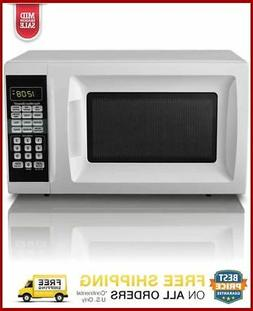 Hamilton Beach 0.7 Cu Ft Countertop Microwave Oven Small Spa