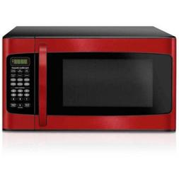 Hamilton Beach 1.1 cu ft Microwave, 6 Quick Set menu buttons
