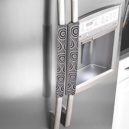 OUGAR8 Handmade Refrigerator Dust Door Handle Cover-Catches