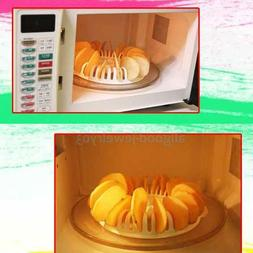 Home Kitchen Microwave Oven Apple Potato Crisp Chip Slicer D