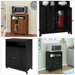 HOME MICROWAVE KITCHEN ISLAND DRAWER Rolling Cart Drawer Sto