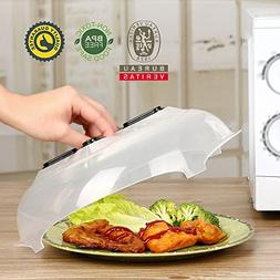 Hover Cover Microwave, Geeduo Microwave Cover Bpa Free Anti-