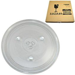 HQRP 12-3/8 inch Glass Turntable Tray for Hamilton Beach GA1