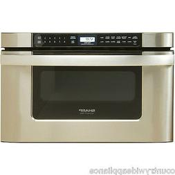 """Sharp Insight KB6524PSY 24"""" wide 1.2 CF Microwave Drawer, Ea"""