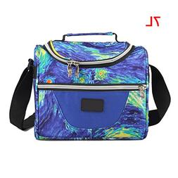 Saefana Insulation Lunch Box Keep Fresh Lunch Bag Kid Therma