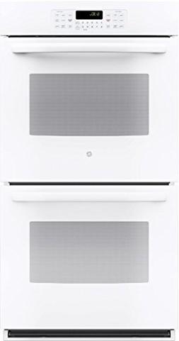 """GE JK3500DFWW 27"""" White Electric Double Wall Oven"""
