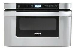 """Sharp KB6524P 24""""W 1.2 Cu. Ft. Drawer Microwave - Stainless"""