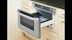 Sharp KB-6524PS 1000 Watt Microwave Oven - Dented see pictur