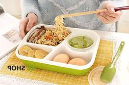 Kids Lunch Box Food Grade Material Microwave Heating Mess Ti