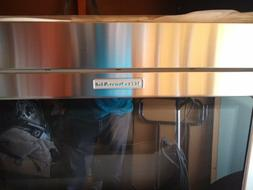 Kitchen aid , microwave hood combination stainless steel