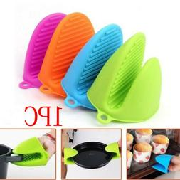 Kitchen Dining Microwave Oven Insulation Gloves Silicone Ove